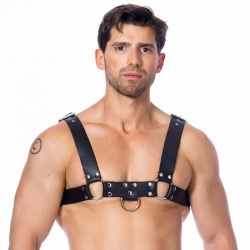 Leather Men's Chest Harness by Rimba - ri-7345