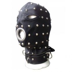 Slaven Masker met Studs van NLLeather - nl-hmb2