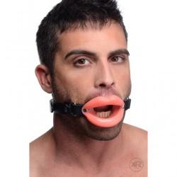 Rubber Lips Open Mond Knevel (Licht Roze) van MAE-Toys - af209-sm-136sp