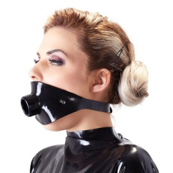 Latex Knebel 'Tube' von Late X  - or-2920280