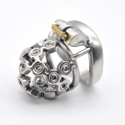 Screw Head Chastity Cage by MAE-Toys - mae-sm-112