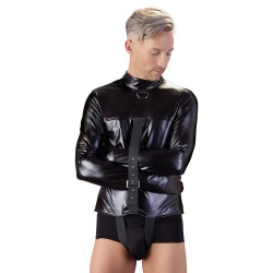 Zwangsjacke aus Lederimitat von Fetish Collection - or-2492709