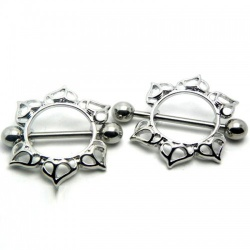 Decoratieve Tepel Piercing - mae-cl-166