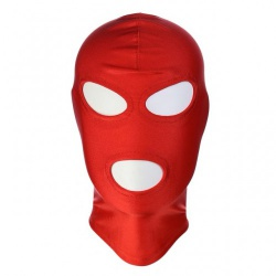 Rood Spandex Masker van MAE-Toys - mae-sm-168red