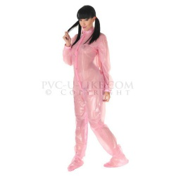 Front open Baby Grow by PVC-U-Like - pul-ab06