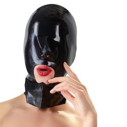 Latex-hoofdmasker met mondopening van LATE-X - or-29202471001