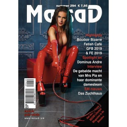 Massad BDSM Magazine 294 - Massad editie Maart - April 2019 - ms-massadmagazine294