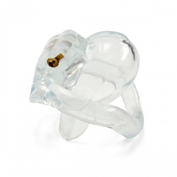 Micro Cock Kuisheidskooi - Transparant van MAE-Toys - mae-sm-206-clr