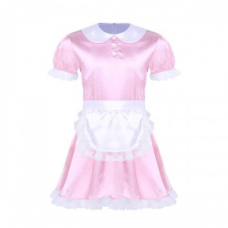 Pink Sissy Maid Dress by MAE-Wear - mae-cl-085