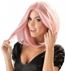 roze Pruik, bob van Wigged Love - or-07001930000