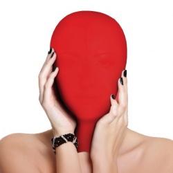 Spandex Subjugation Masker - Rood van MAE-Toys - mae-sm-173-red