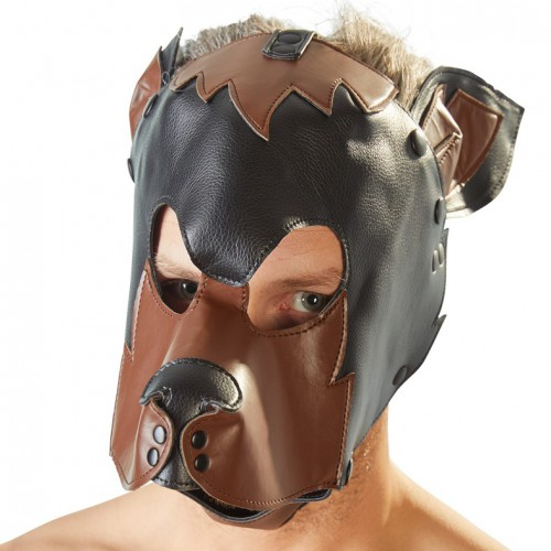 Dog Mask by fetish collection - or-24924661001