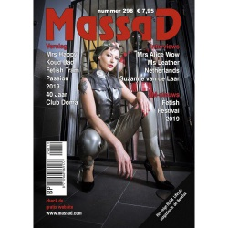 Massad BDSM Magazine 298 - Massad editie Okt - Nov 2019 - ms-massadmagazine298