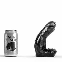 Gebogen Dildo - AB 01 van All Black - opr-115-ab01