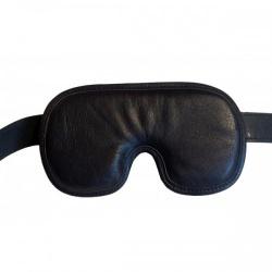 Lederen Gevoerd Oogmasker van P.M. Body Leather - pml-3626