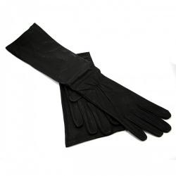 Lederen Lange Handschoenen van Erotex - et-ec099-led