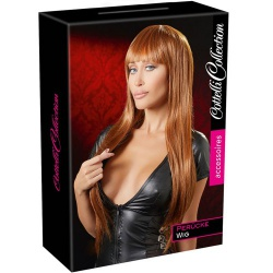 With long, copper coloured hair For a quick new look Perfect for roleplay