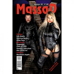 Massad BDSM Magazine 301 - Massad editie - Maart - April 2020  - ms-massadmagazine301