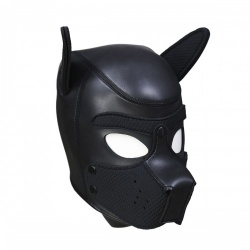 Neoprene Puppy Dog Masker - L van Kiotos - opr-321019