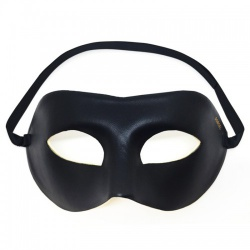 Adjustable PU-Leather Domino Mask by Dorcel - ri-5990