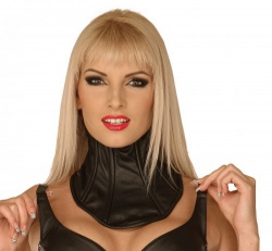 Ledapol 5499 leather neck corset leather neck brace - le-5499