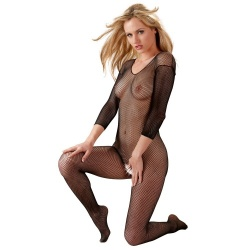 Netz-Catsuit ouvert - or-02306180000