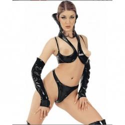 Zwarte lak string 1139 - le-1139