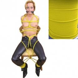 Gelbes Bondage-Seil  8 mm - ta-yellow08