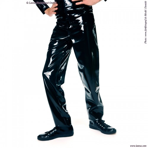 Latex Heren Jeans model 501 van Latexa  - la-3037