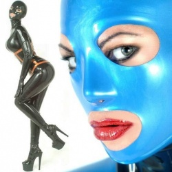 Latex Ladies' Hood by Latexa - la-1159