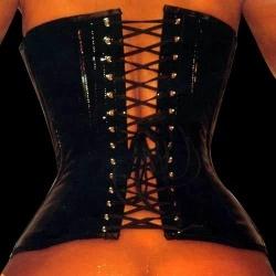 Fetish Lak corset - et-ec001-pvc