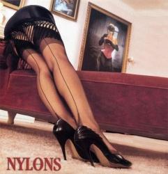klassieke Nylon naadkousen - et-01blk