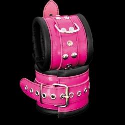 Luxe Gevoerde Roze Enkelboeien - os-0104-3p