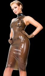 Latex jurk - la-3055