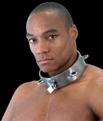 Steel Slave Collar - Black - xr-ri400