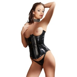 Vinyl Corset and String by Black Level - or-284000610