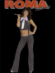 4 Pc Gangster Suit - rm-1129