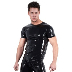 Latex shirt maten S > XXL - or-2910020