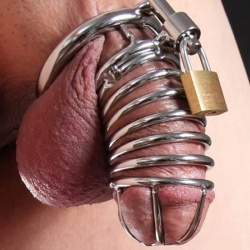 The Jail House Chastity Device (3 rings) - xr-ab813