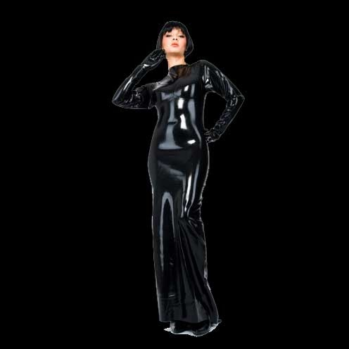 Latex Abendkleid by Latexa - la-3073