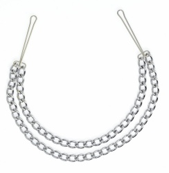 Nipple Clamps with Double Chain - ri-7837
