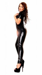 Datex decolleté catsuit met rits - le-9026